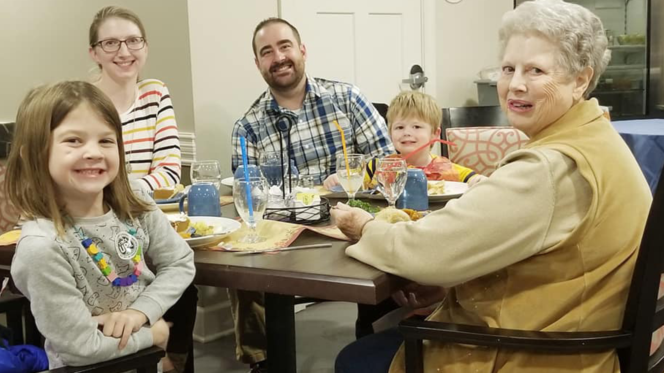 On Thursday, November 8, Cross Creek At Lee's Summit Assisted Living | Memory Care Residents, Staff And Family Members Gathered Together To Celebrate The Community's First Thanksgiving.