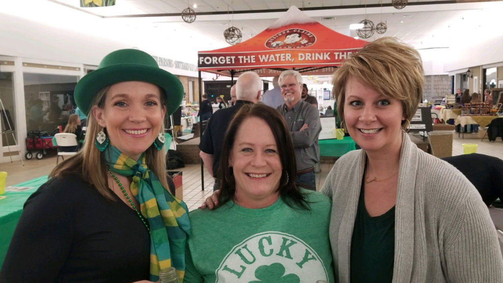 On Saturday, March 16, Capital Health Management and Crown Care Center employees volunteered at a local beer fest that the care center sponsored.
